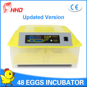 Hhd Classical Model Automatic Turning 48 Chicken Egg Incubator pictures & photos