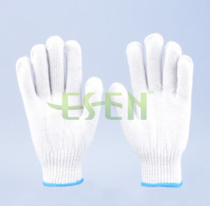 Work Man Hand Safety Cotton Kintted Glove Knitted Glove with Good Price pictures & photos