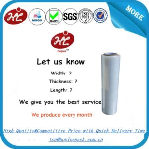 LDPE Jumbo Stretch Film for Transporting and Warehouse Use pictures & photos