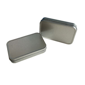 No Printing Rectangle Shape Tin Box Packaging Wholesale Container pictures & photos