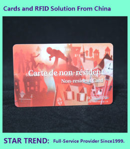PVC Medical Service Card with Magnetic Stripe (ISO 7811) for Hospital pictures & photos