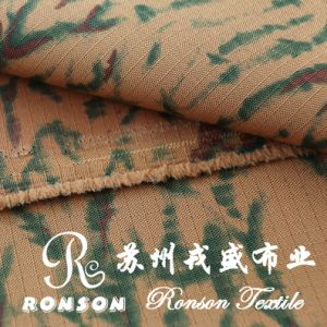 Polyester Check Oxford Fabric for Bags, Desert Camouflage Fabric pictures & photos