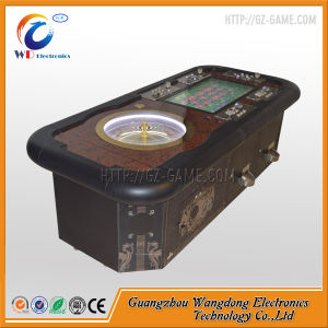 Wood Roulette Wheel Roulette Game Machine of High Profit pictures & photos