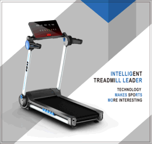 Mini Motorized Treadmill 2.5HP. LCD Display pictures & photos