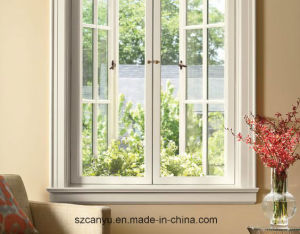 Australian & Nz Standards As2047 Double Glazing Aluminium French Window Design pictures & photos