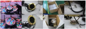 IP68 RGB Swimming Pool LED Underwater Lamp pictures & photos