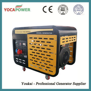 10kw Air-Cooled Open Generator Diesel Power Generator Set pictures & photos