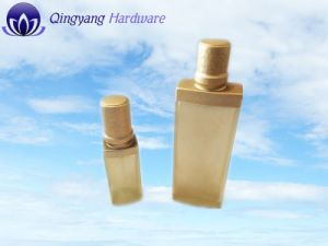 Matte Silver Glass Bottle Aluminum Cover pictures & photos