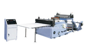 Automatic High Speed Paper Rolls Cross Cutting Machine pictures & photos