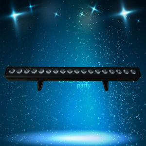 Color Wash Indoor Wall Washer 18PCS Rgbaw Power LED PAR64