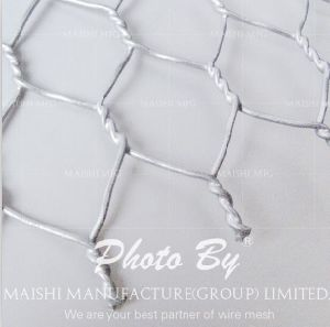 Galvanised Hexagonal Wire Fencing Netting for Rabbit Fences pictures & photos