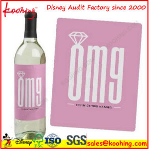 Custom Printing Waterproof Packaging Transparent Label Sticker pictures & photos