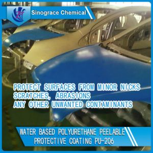 Water Based Polyurethane Peelable Protective Coating (PU-206) pictures & photos