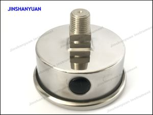 Og-011 Back Connection Pressure Gauge/Brass Thread Pressure Gauge/Oil Manometer pictures & photos