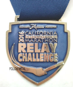 Customized Relay Challenge Medal, Transparent Color for California Marathontag pictures & photos
