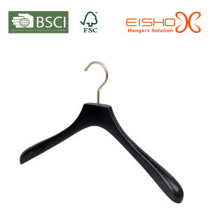 Black Wood Hanger Sets for Garment Store pictures & photos
