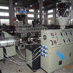 Plastic Pipe Extrusion Line High Capacity 20-63mm PE Pipe Extrusion Machine pictures & photos
