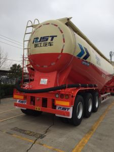 3 Axle Cement Bulk Tank Semi Trailer Powder Tank pictures & photos