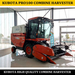 China Manufacture of New Kubota Combine Harvester PRO100 pictures & photos