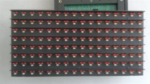 P10 Multi-Color LED Module, P10 Dual Color Slot Display/Level Counting LED Screen/Floor LED Display pictures & photos