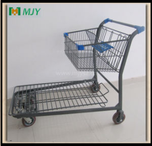 Warehouse Platform Trolley Mjy-M01 pictures & photos