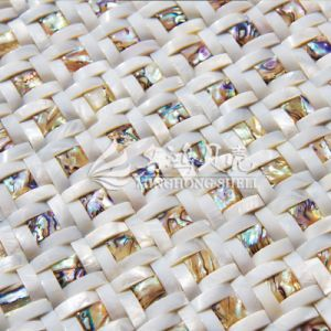 Freshwater Shell and Abalone Shell Arch Face Mosaic Tile pictures & photos