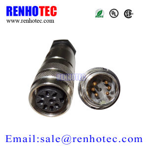 Right Angle M16 Circular Electrical Sensor Connector pictures & photos