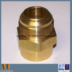 CNC Turning Brass Parts Customized Turned Parts (MQ1035) pictures & photos