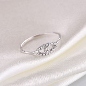 Silver Evil Eye Diamond Ring - Zr3130 pictures & photos