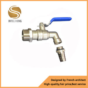 3/4 Inch Brass Bibcock Water Hose Tap Ball Valve pictures & photos