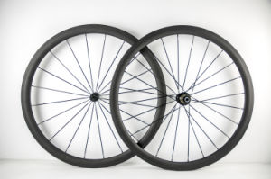Full Carbon Fiber Road Bike Clincher Wheels 38mm Carbon Wheels pictures & photos