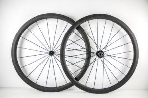 Full Carbon Fiber Road Bike Clincher Wheels 38mm Carbon Wheels