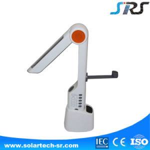 Number One Solar Rechargeable LED Desk Reading Light with Radio pictures & photos