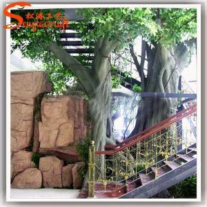 Home Decoration Plastic Artificial Plant Ficus Banyan Tree pictures & photos
