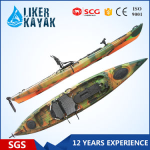 Hot Selling UV LLDPE Single Fishing Kayak Sit on Top Kayak Factory pictures & photos
