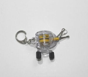 New Design Fishing Tool Bait Casting Reel Key Chain Fishing Zinger pictures & photos