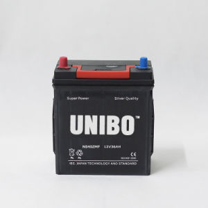 Car Battery  High Quality  Ns40z Mf JIS 12V36ah  Auto Battery High Quality pictures & photos