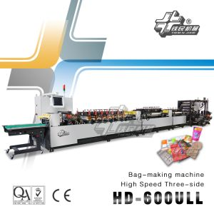 High Speed Three-Side Bag-Making Machine (HD600ULL) pictures & photos