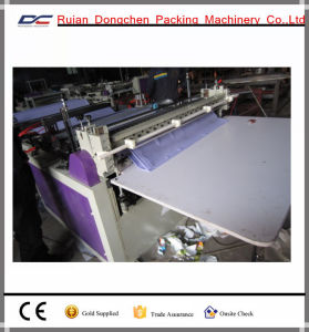 Computer Control Non Woven Fabric Bag Cross Cutting Machinery at Facory Price (DC-HQ)