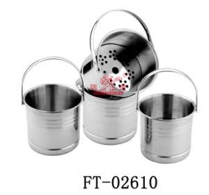 Stainless Steel Beer Cooler Bucket (FT-02610)