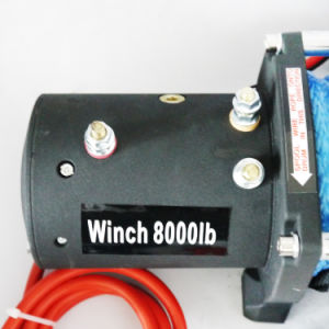 SUV Electric Winch Auto Winch with 8000lb Load Capacity pictures & photos