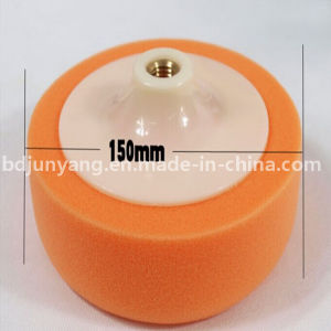 High Quality Polishing Foam Pad/Corrugated Polishing Sponge Wheel pictures & photos