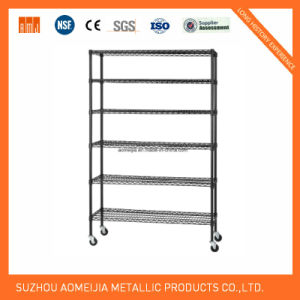 High Quality Anti Rust Wire Shelving with Chrome Finish pictures & photos