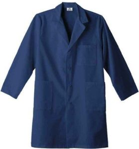 Cotton /Polyester White Lab Coat (A619) pictures & photos