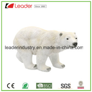 Polyresin New White Bear Statue for Home Decoration and Garden Decoration pictures & photos