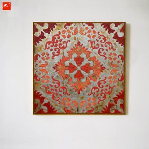 Handmade Oil Painting Paper-Cut Canvas Painting Art pictures & photos