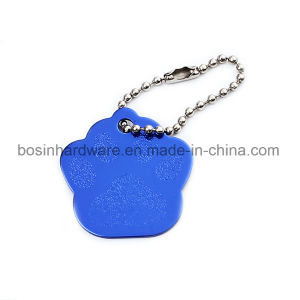 Metal Aluminum Pet Tag with Ball Chain pictures & photos