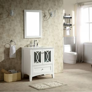 New Style 36′′ Floor Mounted Bathroom Vanity with Single Basin pictures & photos