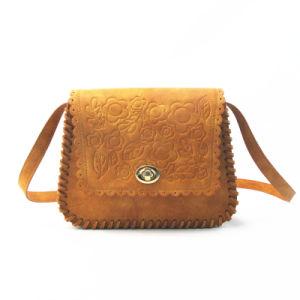 Amboss Retro Brown PU Cross Body Bag pictures & photos