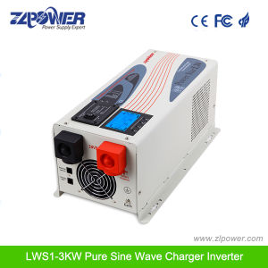 W7 bypass Large LCD display Pure Sine Wave Inverter 1000W-6000W, 12/24/48VDC, 110/220/230/240VAC pictures & photos
